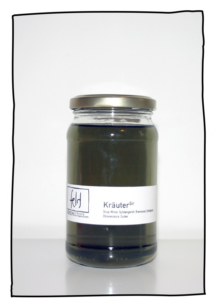 Kräutersirup