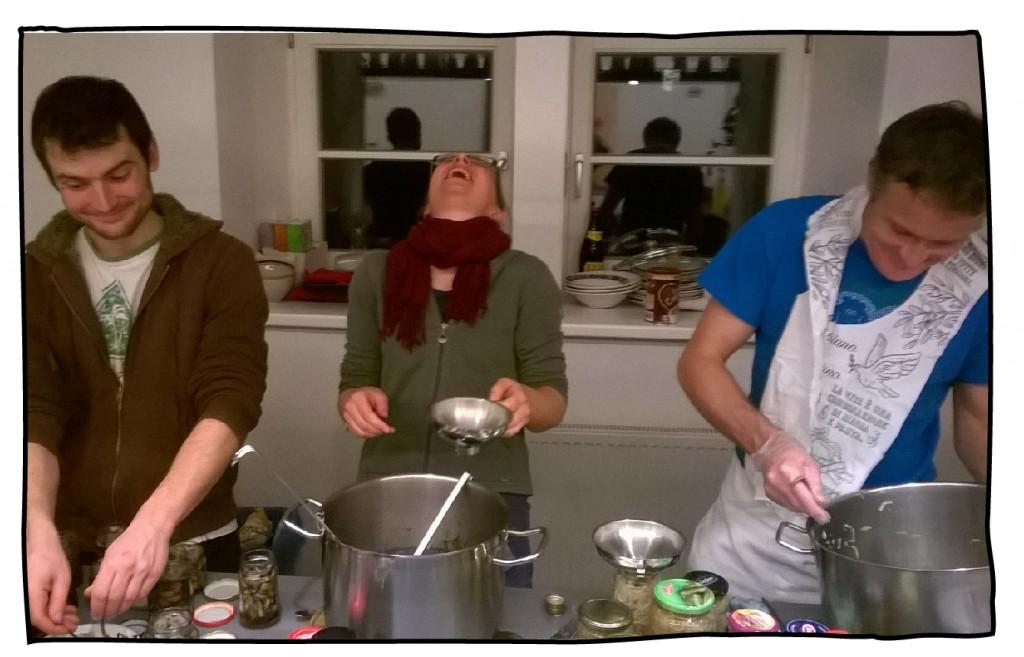 Einkochen